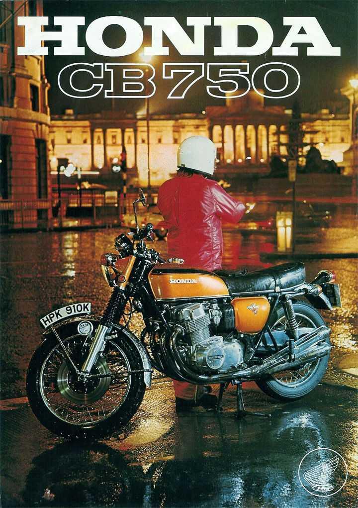 Honda CB 750 four Poster