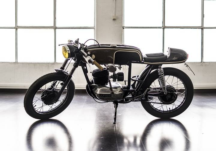 Bultaco Mercurio 155 Cafe Racer – Gas Department