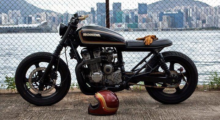 Honda CB750 Brat Style Nighthawk – Abandonedpier