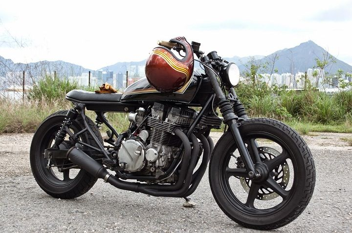 Honda CB750 Brat Style Nighthawk - Abandonedpier