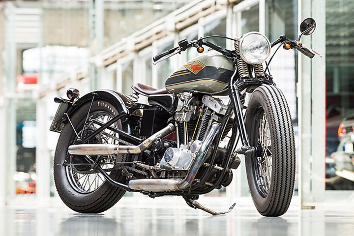 Harley Davidson Ironhead Bobber - Van Hai Nguyen