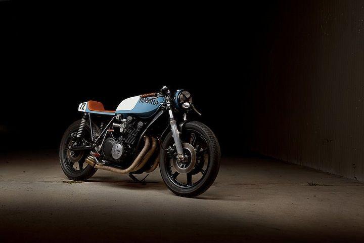 Yamaha XS750 Cafe Racer - Ugly Motorbikes