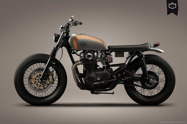 Yamaha XS650 Brat Style 001