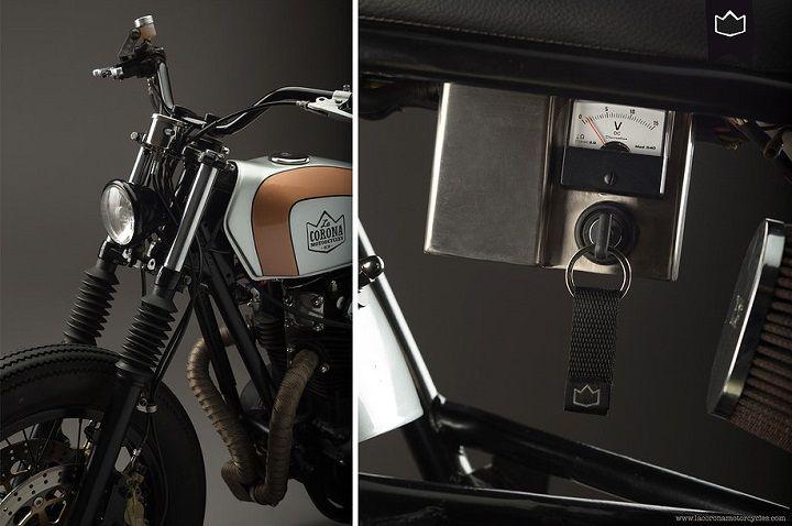 Yamaha XS650 Brat Style 001 - La Corona Motorcycles
