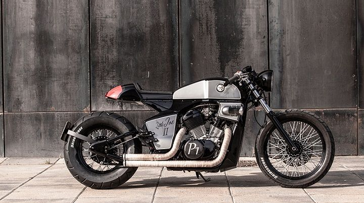 honda shadow vt600 cafe racer - rocket supreme