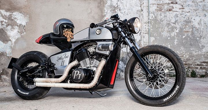 Honda Shadow VT600 Cafe Racer by Rocket Supreme