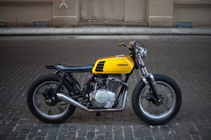 Yamaha XS400 Street Tracker by New Church Moto