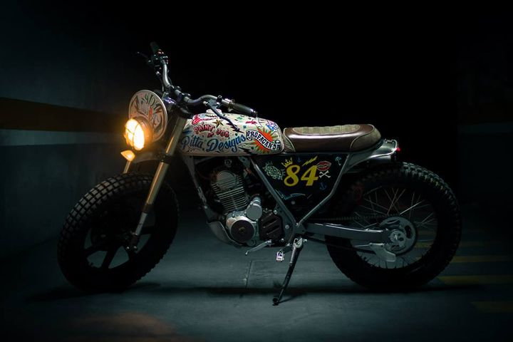 Honda CLR125 Scrambler – Dream Wheels Heritage