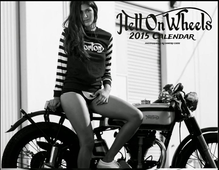 Calendario 2015 Hell on Wheels