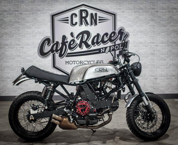 Ducati 900SS Scrambler – Cafe Racer Napoli