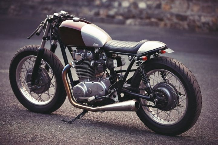 Yamaha XS650 Cafe Racer Clutch Custom Motorcycles