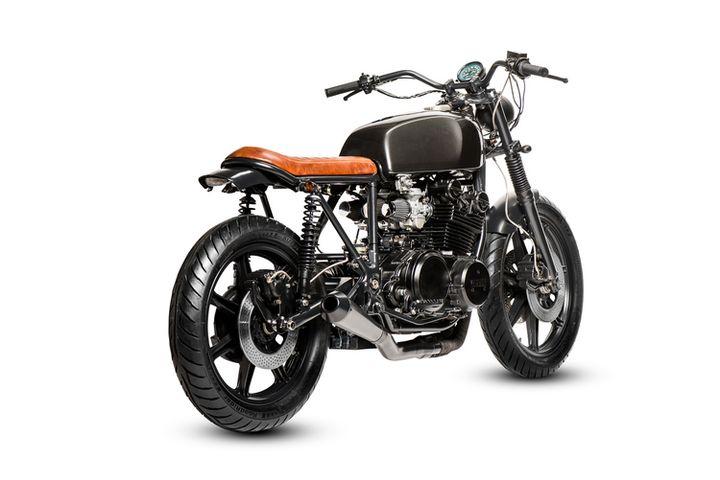 Yamaha XS750 Brat Style Jules Brans