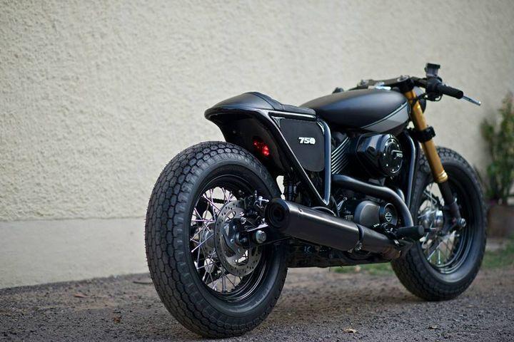 Harley Davidson Street 750 Cafe Racer Rajputana Custom