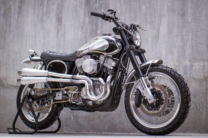Harley Davidson 883 Sportster Scrambler – BCR