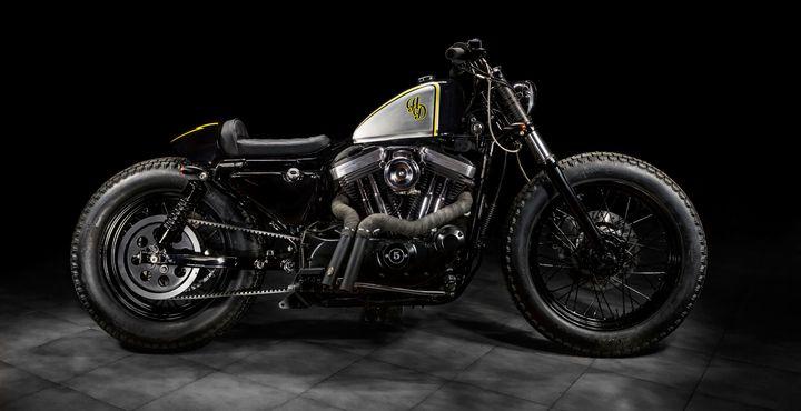 Harley Davidson 883 Sportster Bobber Macco Motors