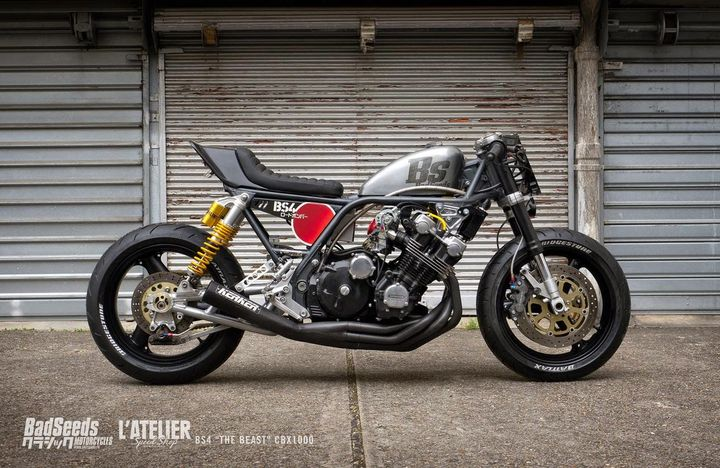 Honda CBX1000 Cafe Racer Badseeds by Motorcycle Club