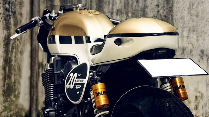 Yamaha XJR1300 Cafe Racer Dissident by It Rocks!Bikes