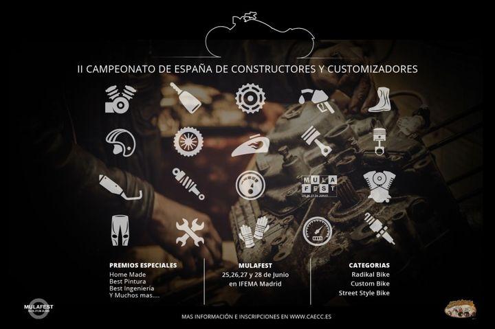 Campeonato de España de Constructores y Customizadores de Motos 2015