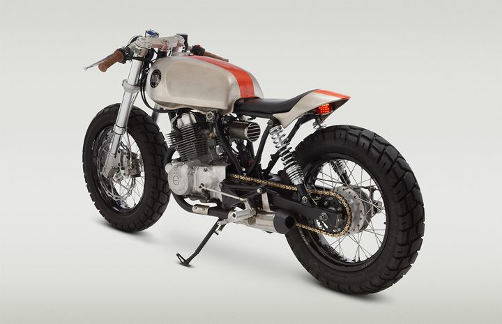 honda cb250 cafe racer pentagon - classified moto