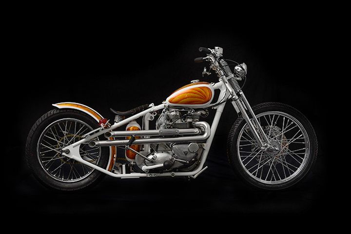 Triumph Bobber Bonneville 1969 by Origin8or