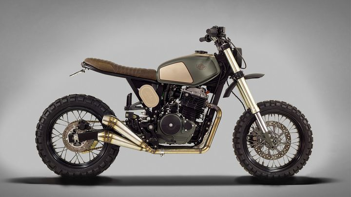 Honda Dominator NX650 Street Tracker – Ton-Up Garage