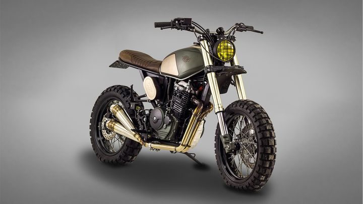 Honda Dominator NX650 Street Tracker by Ton-Up Garage
