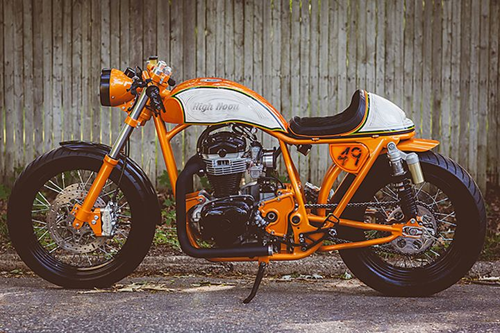 Kawasaki W650 Cafe Racer High Noon by Speedwerks