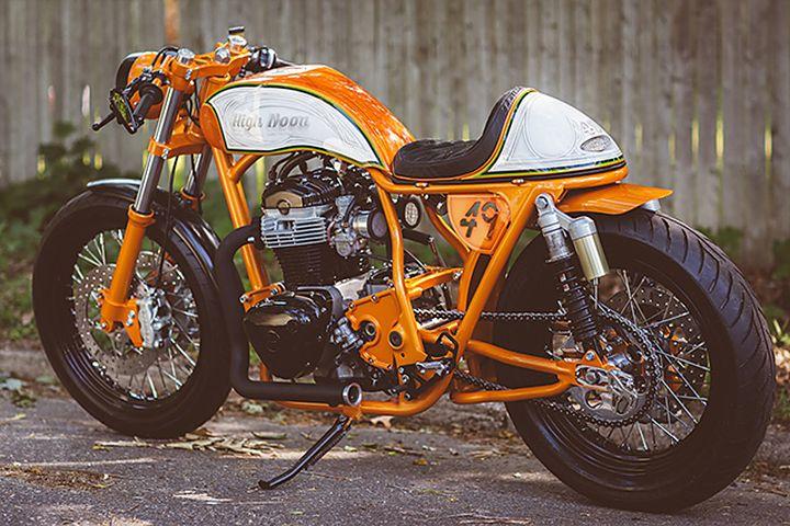 Kawasaki W650 Cafe Racer High Noon by Speedwerks