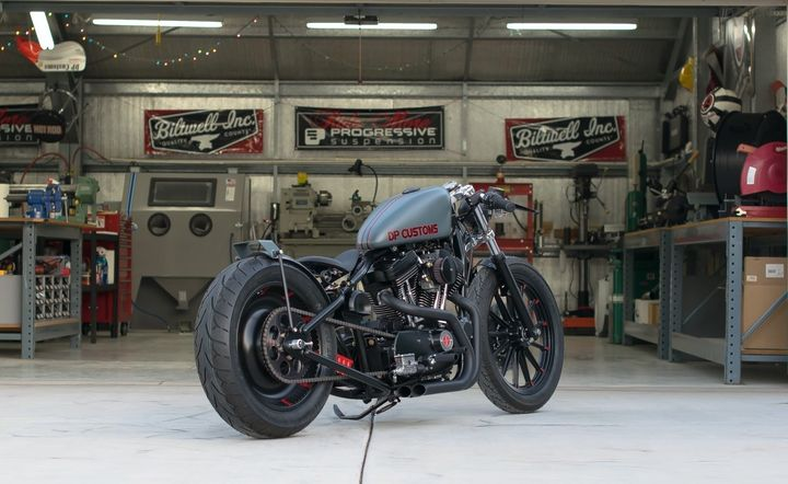 Harley Davidson Sportster Bobber ZZ by DP Customs