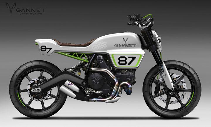 Gannet Design - Diseño de motos custom y productos