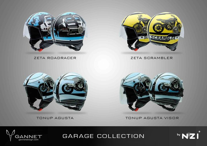 Gannet Design - Diseño de motos custom y productos