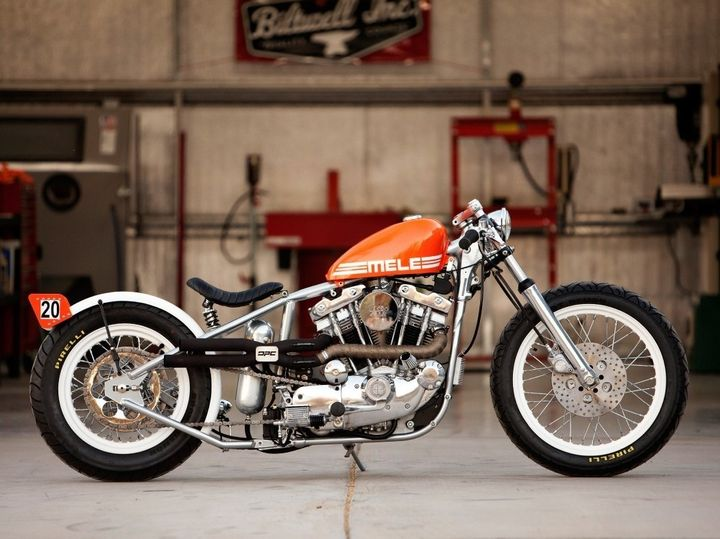 Bobber ''Mele'' by DP Custom Cycles