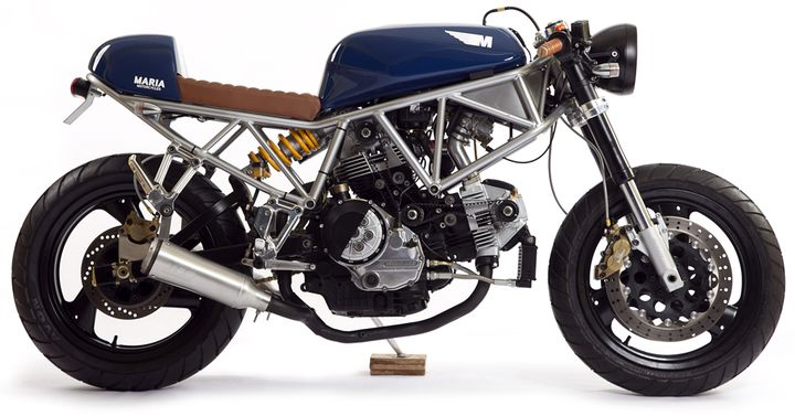 Ducati 750SS Cafe Racer The Italian Sniper Maria Riding Company