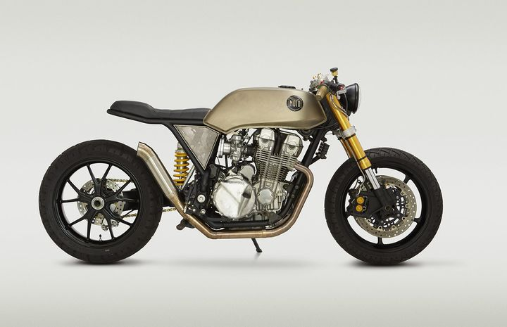 Honda CB750 Cafe Racer Mr. Hyde by Classified Moto