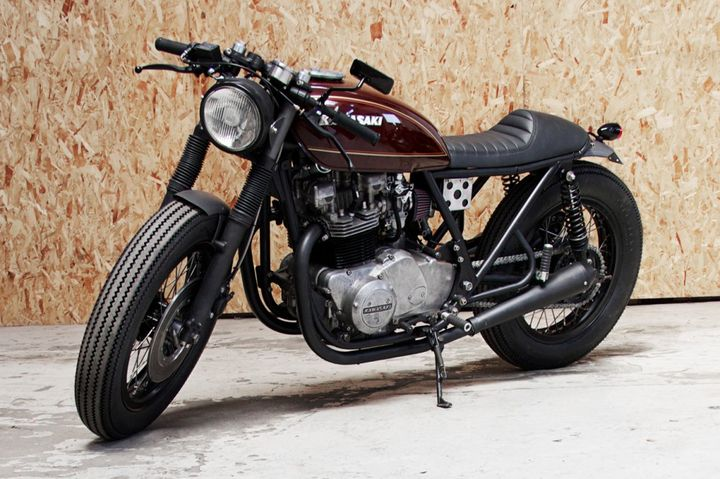 Kawasaki 750 Cafe Racer Monkee #45 by Wrenchmonkees