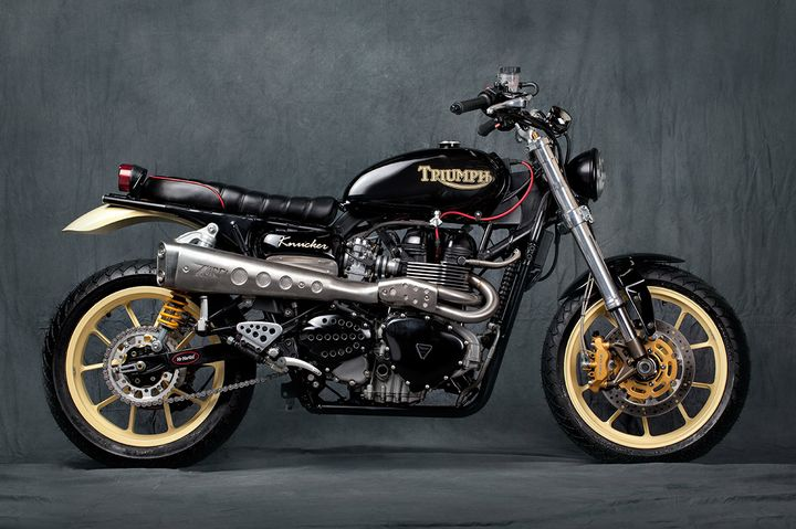 Triumph Scrambler Knucker by Mr Martini