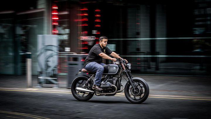 BMW R80 Brat Style by Sinroja Motorcycles