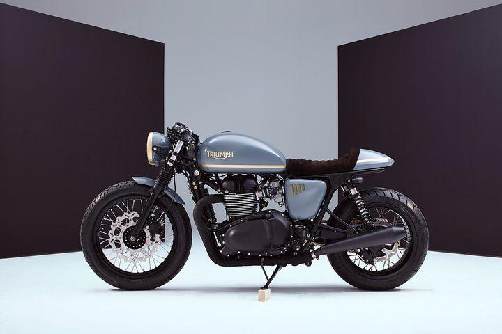 Top Triumph Bonneville Cafe Racer - Bunker Custom TO79