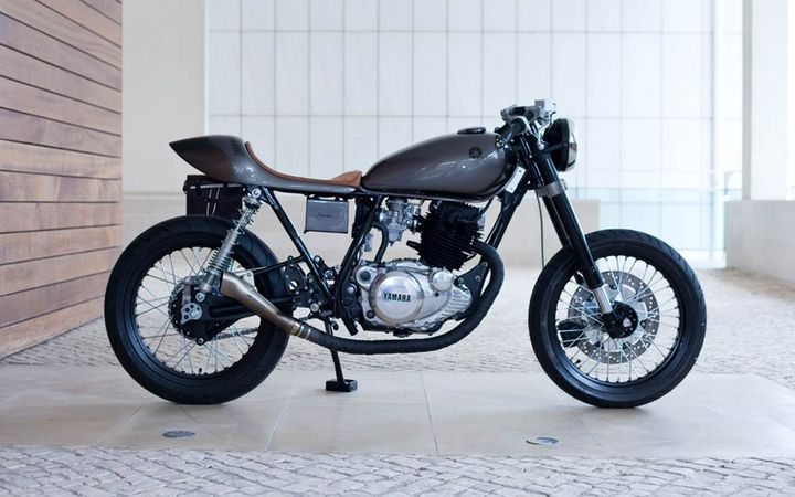 Yamaha SR250 Cafe Racer Saudade by Tricana Motorcycles