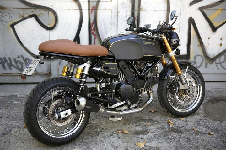 Ducati GT1000 Brat Style by Nitro Cycles