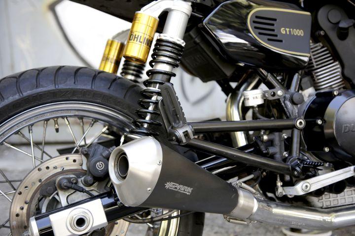 Ducati GT1000 Brat Style by Nitro Cycles