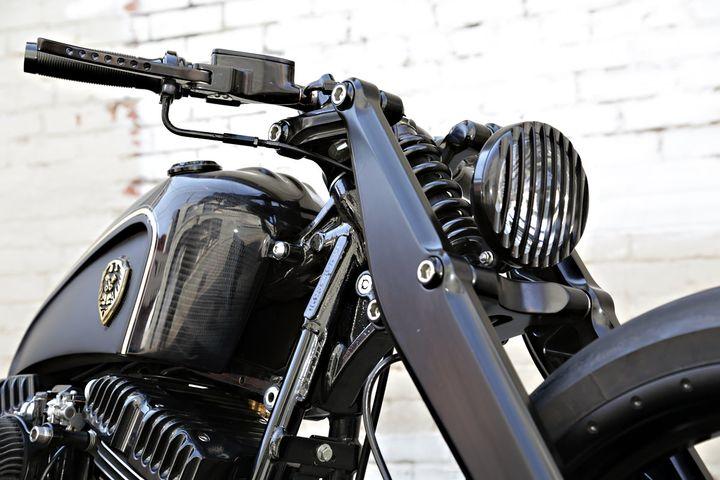 Harley Davidson Softail Rocker Bobber by Rough Crafts
