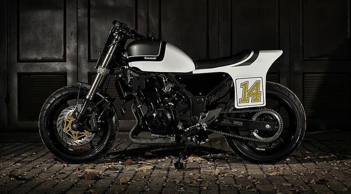 Kawasaki Z250 Flat Tracker by Studio Motor