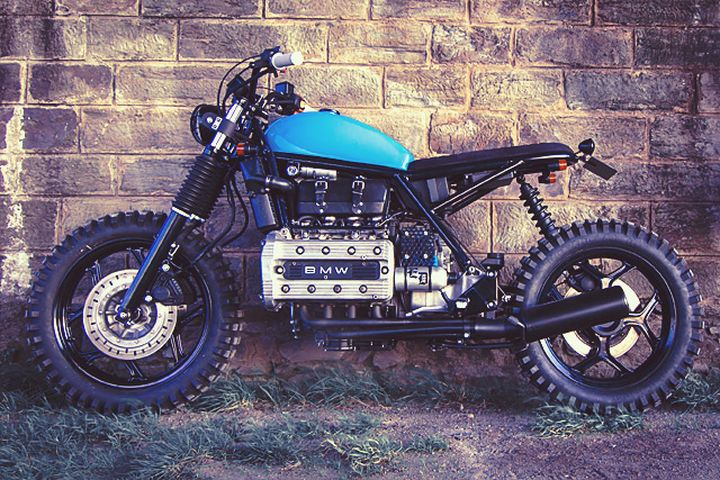 BMW K100 Street Tracker – Ed Turner Motorcycles