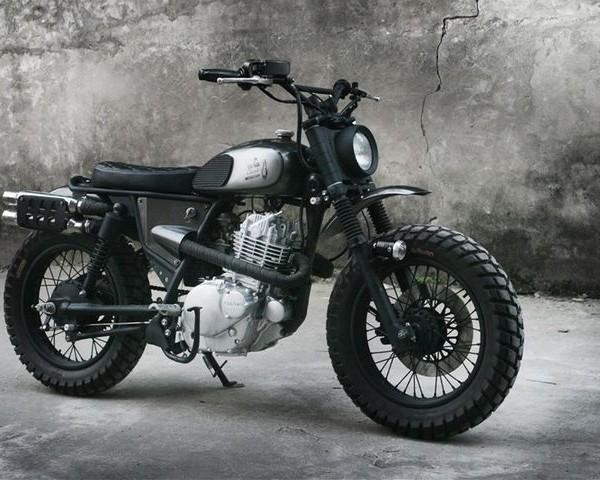 Suzuki GN250 Scrambler – DuongDoan Design