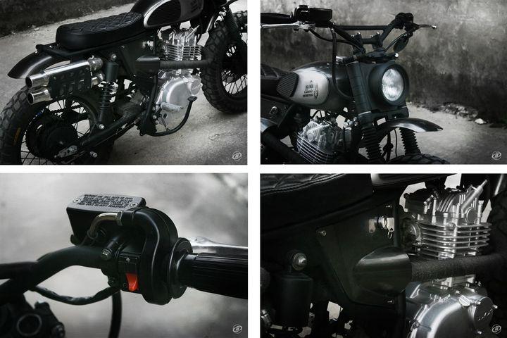 Suzuki GN250 Scrambler by DuongDoan Design