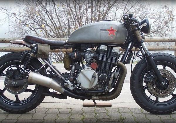 """Honda CB750 Seven Fifty Rat Bike """"Babushka"""" – Alex"""