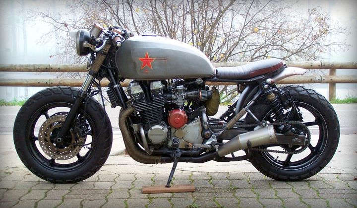 "Honda CB750 Seven Fifty Rat Bike ""Babushka"" - Alex 2"
