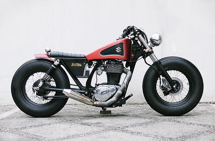 Suzuki Savage LS650 Bobber – Studio Motor