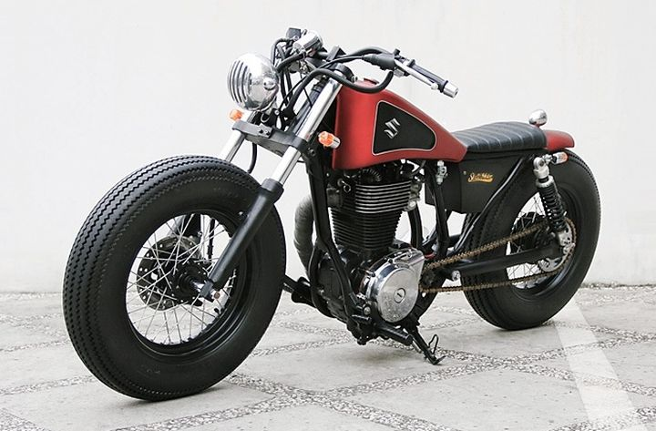 Suzuki Savage LS650 Bobber by Studio Motor